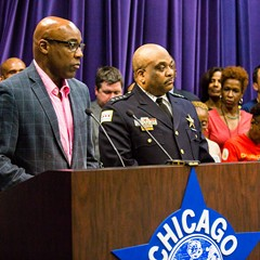 Illinois state senator Kwame Raoul and police superintendent Eddie T. Johnson proposed a bill aiming to keep repeat gun offenders accountable for their crimes.