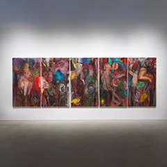At 82 years old, painter Jim Dine shows no signs of slowing down