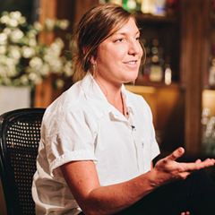 Chef Sarah Rinkavage pays tribute to her culinary mentor, Jason Hammel