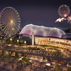 Rendering of the renovated Navy Pier. An investigation by Crain's and the Better Government Association reveals that $55 million in TIF funds were diverted to the top tourist destination instead of going to a blighted neighborhood. Officials responded by saying there was no fiscal impropriety involved in the transaction.