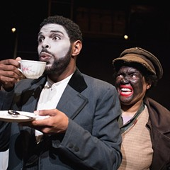Definition Theatre's An Octoroon boldly subverts, in white-, red-, and blackface