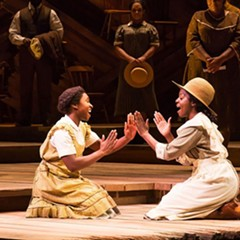 Broadway in Chicago transports musical numbers from its stages to the Pritzker Pavilion, including some from The Color Purple, on Monday 8/14.