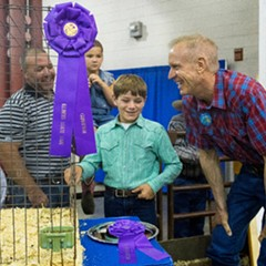 Governor Bruce Rauner at the Illinois State Fair