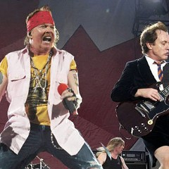 Black Angus, an AC/DC cover band, perform at a tenth-anniversary party for Reggie's on Fri 9/8.