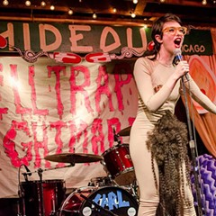 """Sarah Sherman, aka """"Sarah Squirm,"""" pulls out all the stops (and pubes) at the raunchy Helltrap Nightmare Fri 10/27."""
