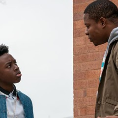 Kevin (Alex R. Hibbert) and Brandon (Jason Mitchell) in the Showtime series The Chi