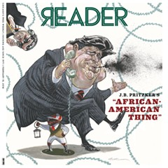 "J.B. Pritzker decries this week's Reader cover as ""not the right approach"""