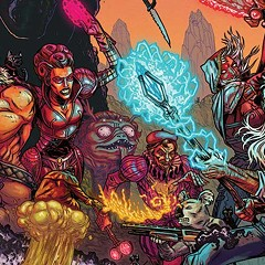 """For artist Ryan Browne, """"a comic is a movie with an unlimited special effects budget"""""""