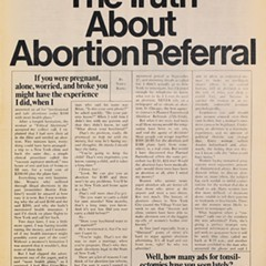 Scouting Chicago abortion services in 1971