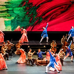 Mark Morris's Layla and Majnun gives a modern dance spin to a classic Arabian love story