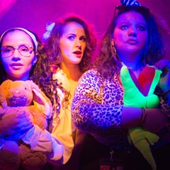 Hot Pink, or Ready to Blow, a satirical take on 80s high school comedies, has showings Mon 3/26 and Thu 3/9.