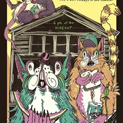 Rats and cats picnic together at the Hideout on the gig poster of the week