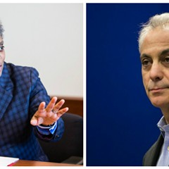 Lori Lightfoot is one of eight candidates challenging Mayor Rahm Emanuel.