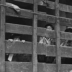 Japanese-American internment camps were also upheld by the U.S. Supreme Court.