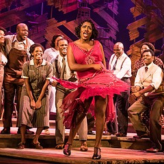 Adrianna Hicks's Celie owns the musical adaptation of The Color Purple