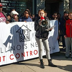 Lift the Ban Coalition members spoke about the impact of housing insecurity on women last Thursday