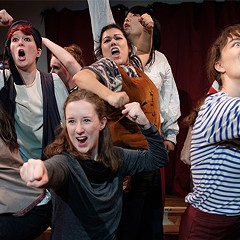 Sometimes the cast of the Cuckoo's Theatre Project's Moby Dick! The Musical hits the right campy notes