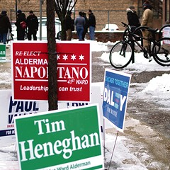 Napolitano's challenger hopes the 41st Ward isn't as bigoted as it seems