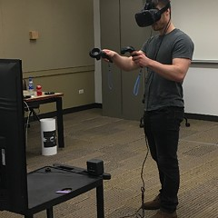 DePaul students show off the future of video games