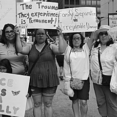 PHOTOS: Take Action to End Criminalization, Detention, and Deportations Protest