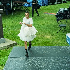PHOTOS: Behind the Scenes with Tasha at Pitchfork