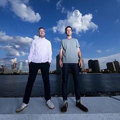 Electronic math-rock masters Battles reinvent themselves as a duo on the playful, polyrhythmic Juice B Crypts