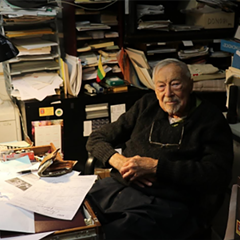 Stanley Balzekas Jr., founder and president of the museum, in his office.