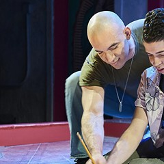 Steep Theatre's production of The Leopard Play, or Sad Songs for Lost Boys