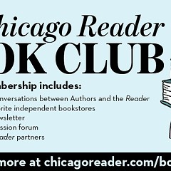 Chicago Reader Book Club membership giveaway