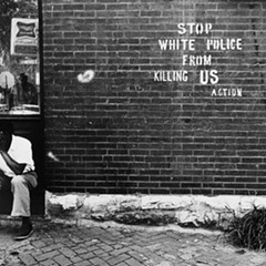 Darryl Cowherd, Stop White Police from Killing Us - St. Louis, MO, c. 1966-67