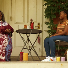"Black Mama Sable screens as part of the ""Voices of Our Time"" shorts program."