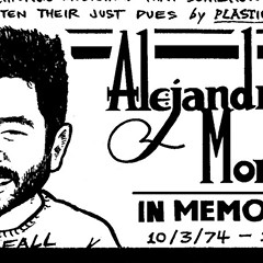 A memorial to Alejandro Morales