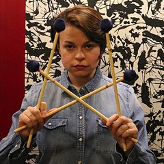Patricia Brennan makes delicate music for mallets