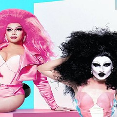 Rosé (left) and Gottmik are two of the performers on the roster for Drive 'n' Drag this weekend.