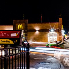 The McDonald's where Kenia Campeando was working when she tested positive for COVID-19.
