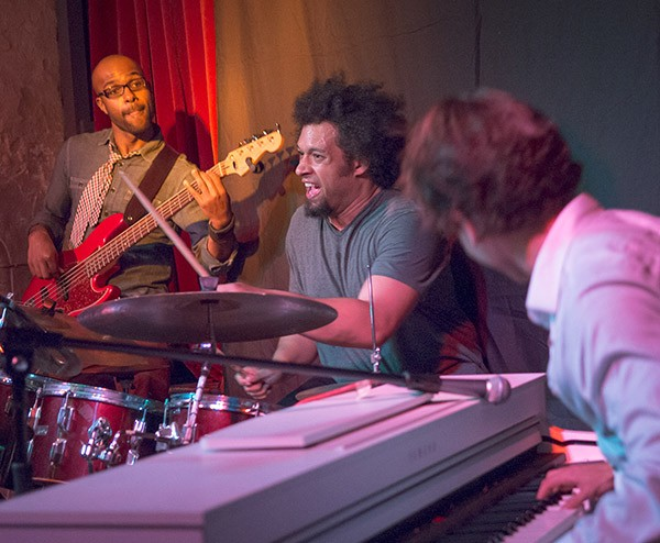 Makaya McCraven plays with the Greg Spero Quartet on a UK trip in 2014. - ALAN SAWYER VIA FLICKR