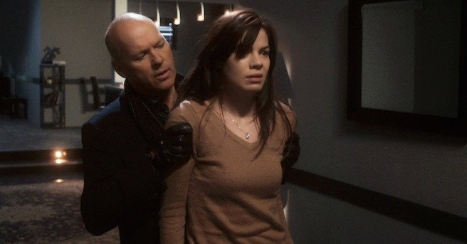 Michael Keaton and Michelle Monaghan in Blindsided