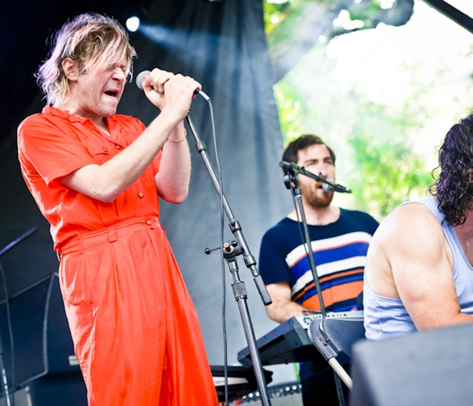 Ariel Pink made the most of his shortened set.