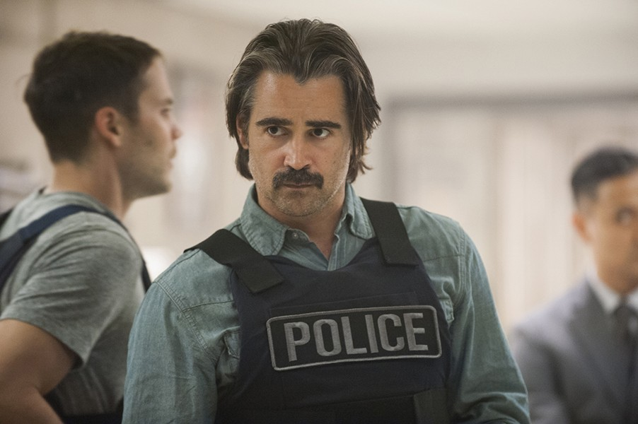 Colin Farrell as a true detective - HBO