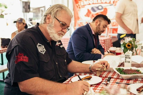 Judging the 2015 Windy City Smokeout