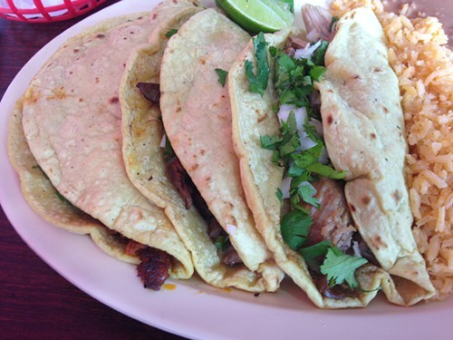 Housemade tortillas are the thing at El Comalito