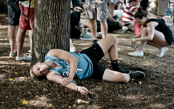 The apathy was palpable on day two of Lollapalooza. - ALISON GREEN