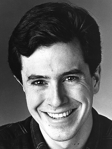 An early Colbert headshot - COURTESY OF SECOND CITY