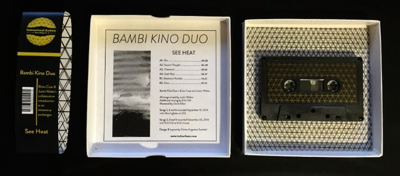 See Heat will be released digitally and in an edition of 111 lavishly packaged cassettes. - COURTESY INTERNATIONAL ANTHEM