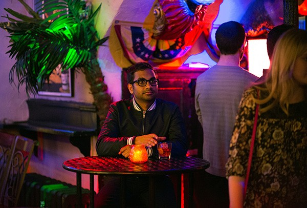 Aziz Ansari is just trying to figure out this crazy thing called life. - NETFLIX