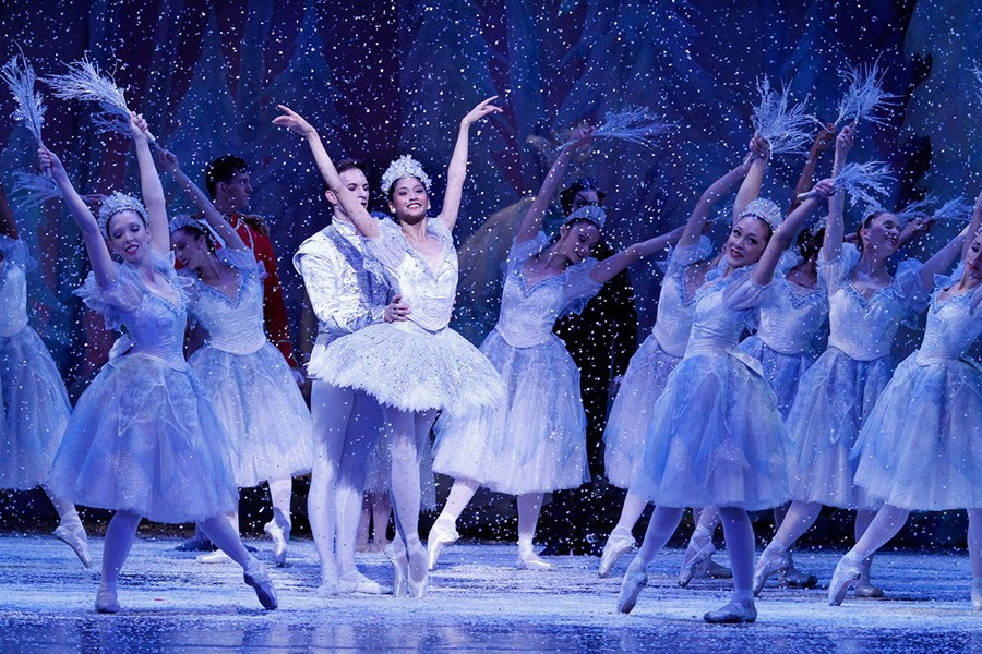 Christine Rocas as the Snow Queen in the 2012 production of The Nutcracker - HERBERT MIGDOLL