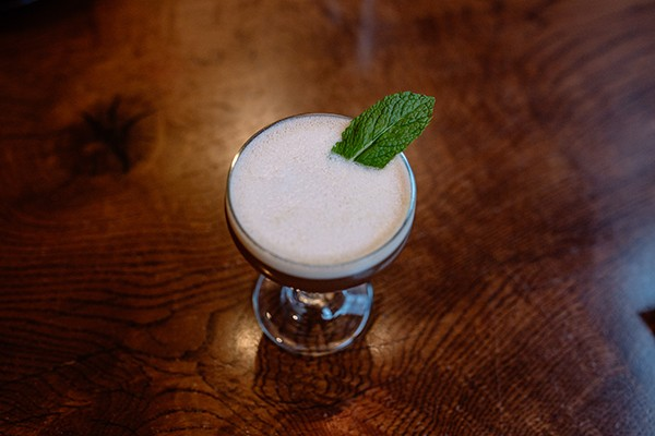 The Fear and Trembling cocktail made with lamb jus - CORY POPP