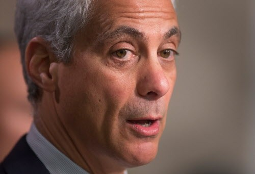 "Mayor Rahm discovers ""mental health crises"" four years after he closed mental health clinics in low-income, high-crime neighborhoods. - SCOTT OLSON/GETTY IMAGES"