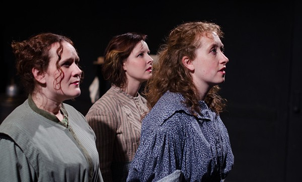Eleanor Katz, Janeane Bowlware, and Anne Korajczyk in Brontë