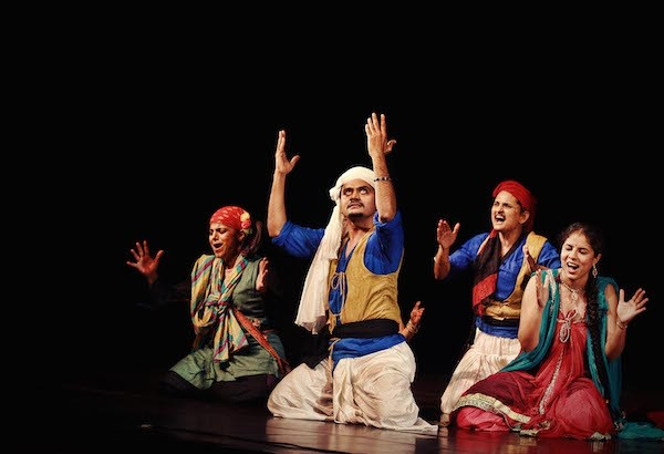 The company of the Company Theatre of Mumbai's Piya Behrupiya, a Hindi version of Twelfth Night - COURTESY OF COMPANY THEATRE